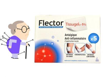 Flector Tissugel 1% 5 pièces