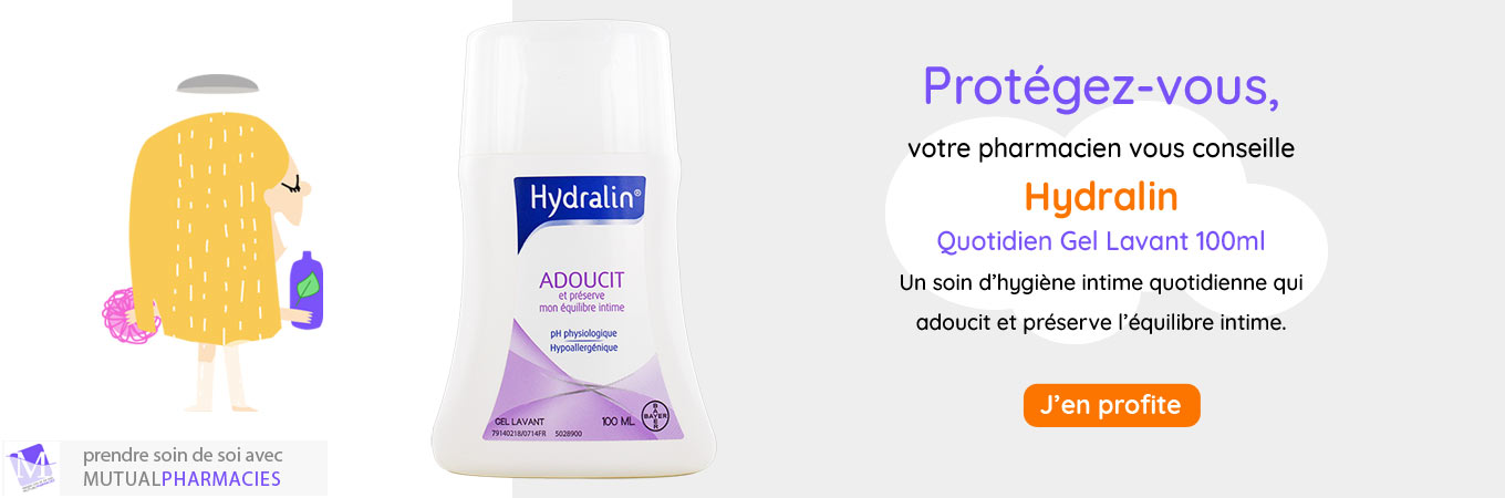 Hydralin gel lavant 100ml
